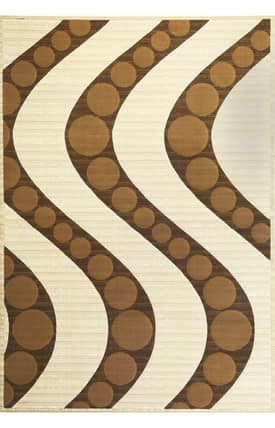 Sapphire Rugs Sapphire Contemporary -Onyx-Waves Rug