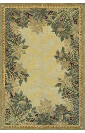 Sapphire Rugs Sapphire Country & Floral Handmade Wool-Sparta-Tropical Rug