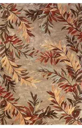 Sapphire Rugs Sapphire Country & Floral Handmade Wool-Sparta-Tropical Branches Rug