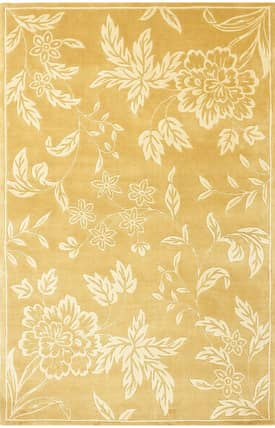 Sapphire Rugs Sapphire Country & Floral Handmade Wool-Chateau-Tropica Rug