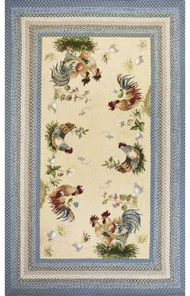 Sapphire Rugs Sapphire Country & Floral -Fairfax-Rooster Pen Rug