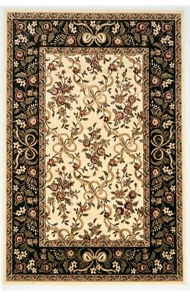 Sapphire Rugs Sapphire Traditional -Cambridge-Floral Ribbons Rug