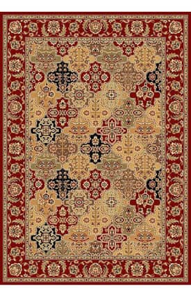 Sapphire Rugs Sapphire Traditional -Cambridge-Kashan Panel Rug