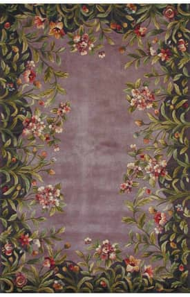 Sapphire Rugs Sapphire Country & Floral Handmade Wool-Emerald-Garden Rug