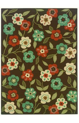 Luxor Kingdom Outdoor -Montego Outdoor Flower Power Rug