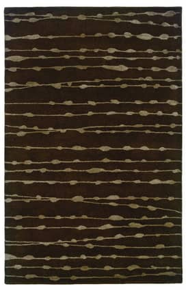 Luxor Kingdom Contemporary Handmade Wool-Sphinx Silhouette 48107 Rug