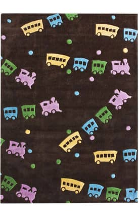Rugs USA Keno Trains Rug