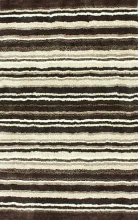 Rugs USA Keno Striped Shaggy Rug