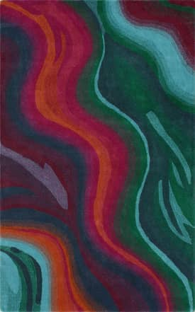 Rugs USA Couture Colorful Waves Rug